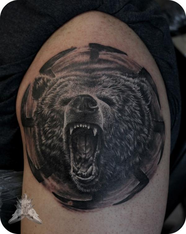 тату медведь коловрат картинки сайт поможет