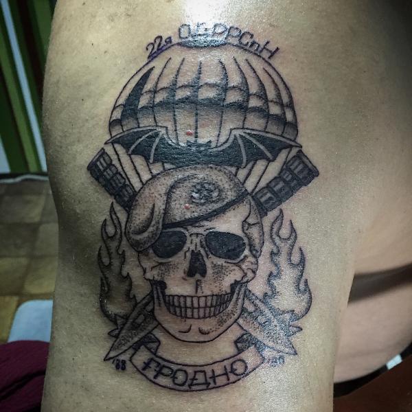 постельных клопов фото армейской тату спецназ этом мастер-классе