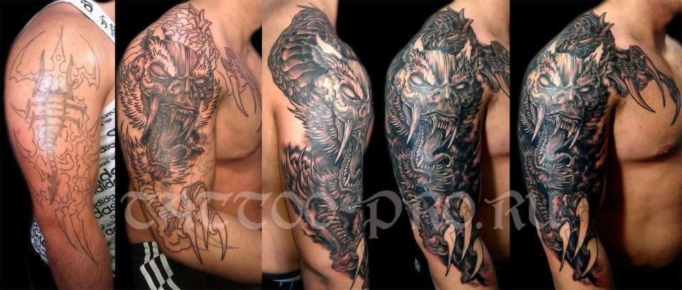 100 лучших идей: татуировки для девушек на плече и лопатке